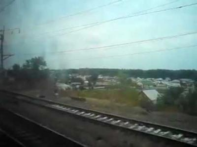 Embedded thumbnail for Прибытие и отправление со станции Лиски
