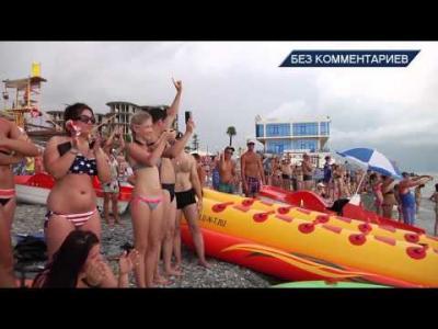 Embedded thumbnail for FLYBOARD Летающие дельфины Шоу в Лазаревском HD