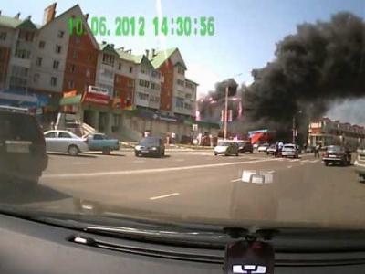Embedded thumbnail for Пожар!!! Лиски Корона горит!!!