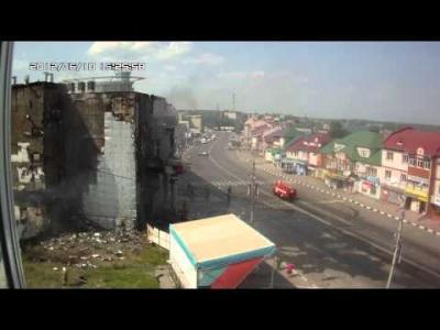 Embedded thumbnail for Лиски пожар ТЦ КОРОНА (часть 2) 2012.06.10